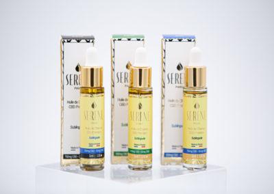 Serene 3 X 5ML huile cbd