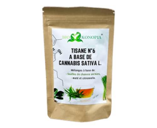 Tisane N°6 mélange CBD + 1 Infuseur Offert