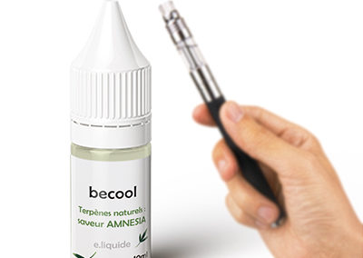 Becool e-liquide cbd arôme Amnesia 300mg