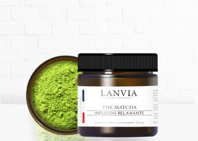 Thé Matcha infusion relaxante 50mg
