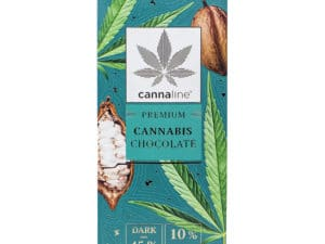 Chocolat Noir au Cannabis Premium (3 Tab. de 80Gr.)
