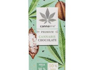Chocolat au lait au cannabis Premium (3 Tab. de 80Gr.)