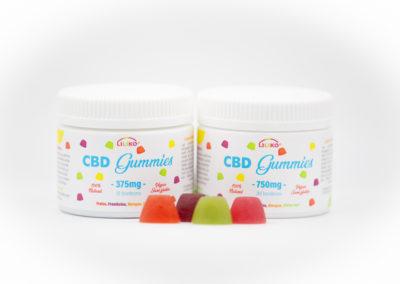 Gummies bonbons aux fleurs de CBD 375 mg