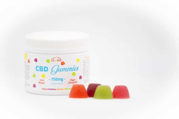 CBD Bonbons (30) – 750mg – 100% Naturel
