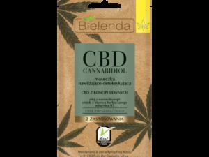 Masque au CBD Détox pour peaux grasses / mixtes (Lot de 5)