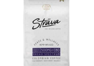 Cafe grain entier Strava au CBD 500mg