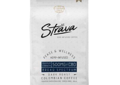 Cafe grain entier torréfié Strava au CBD 250mg