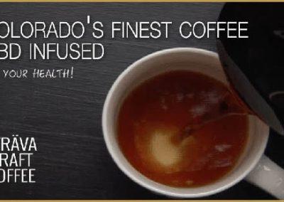Café torréfié Strava au CBD 500mg