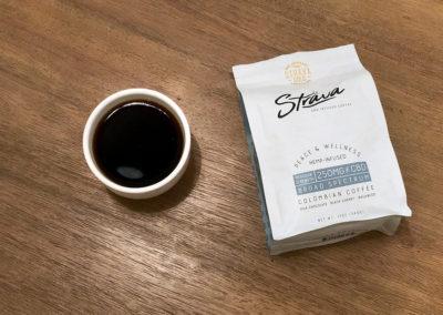 Café grain entier Strava au CBD 250mg
