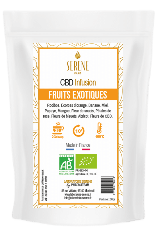 Tisane Fruits Exotiques + 1 Infuseur coeur offert