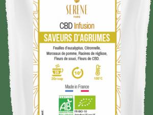 Tisane Saveurs d'Agrumes + 1 Infuseur coeur offert