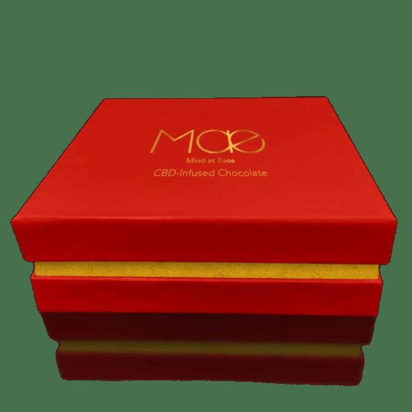 16 Chocolats Artisanaux MAE 25mg CBD /pcs